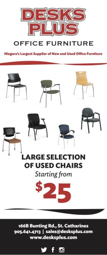 Niagara's Largest Supplier of New and Used Office Furniture