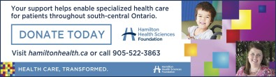 Your support helps enable specialized health care for patients in the Niagara region