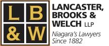 Niagara's Lawyers: LANCASTER, BROOKS & WELCH