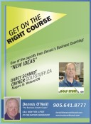 One of the payoffs from Dennis's Business Coaching: 'NEW IDEAS'