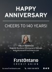 HAPPY ANNIVERSARY, CHEERS TO 140 YEARS!